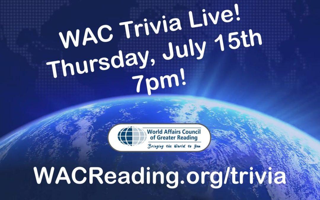 WAC Trivia Live